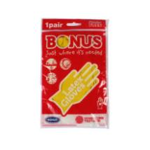 Bonus gumikesztyű M (10db/#)
