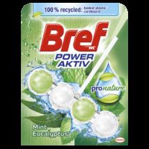 Bref Power aktív 50gr Pro Nature Mint Eukaliptusz (10db/krt)