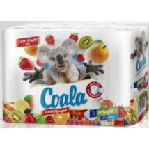 Coala Wc papír 24tek. 3rtg Tutti Frutti (4db/krt)