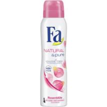 Fa dezodor 150ml Natural&Pure Rose Flower (6db/#)