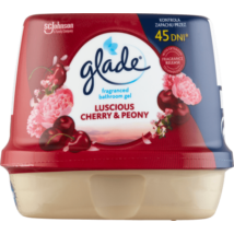 Glade fürdőszobai légfrissítő zselé 180gr Luscious Cherry&Peony (8db/krt)