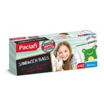 Paclan Zip záras szendvics zacskó gyerek 16*17 42db-os (20db/krt)
