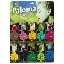 Paloma Gold autóillatosító (60db/levél)