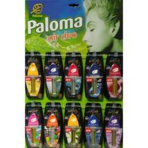 Paloma Parfüm autóillatosító  (45db/levél)