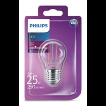 Philips LED 2W E27 villanyégő (6db/#)