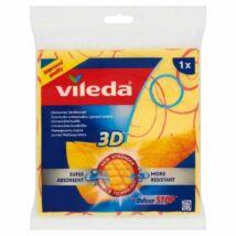 Vileda háztartási törlőkendő 1db-os 3D (db/#)