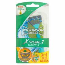 Wilkinson Extreme3 Sensitive 3+1db-os eldobható borotva (10db/#)