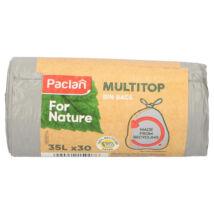 Paclan for Nature Multi Top szemeteszsák 35l (*30zsák) 16my (27db/krt)