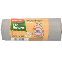 Paclan for Nature Multi Top szemeteszsák 60l (*20zsák) 18my (20db/krt)