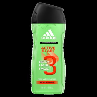 Adidas MEN tusfürdő 250ml Active Start (12db/#)