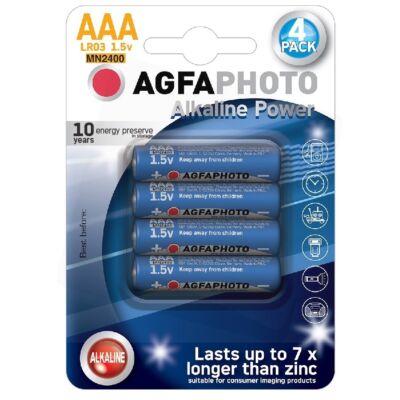 Agfa Alkáli (tartós) Mikró Elem AAA lap kínáló (12db/krt)