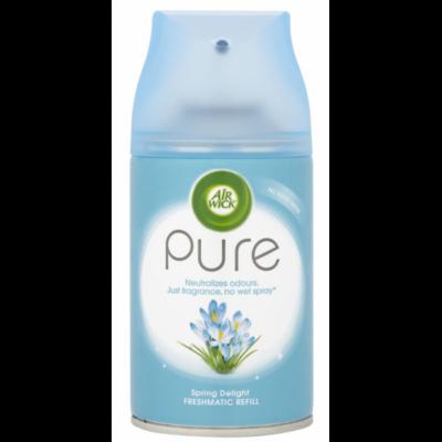 Airwick FreshMatic légfrissítő 250ml ut. Pure Spring Delight (6db/#)