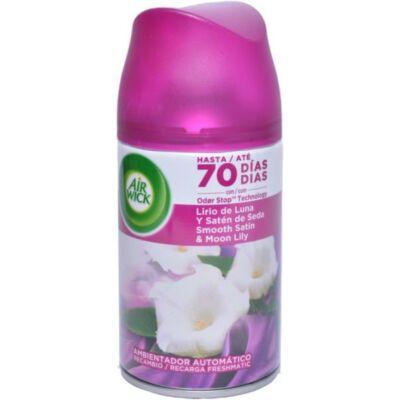 Airwick FreshMatic légfrissítő 250ml ut. Smooth Satin&Moon Lily (6db/#)