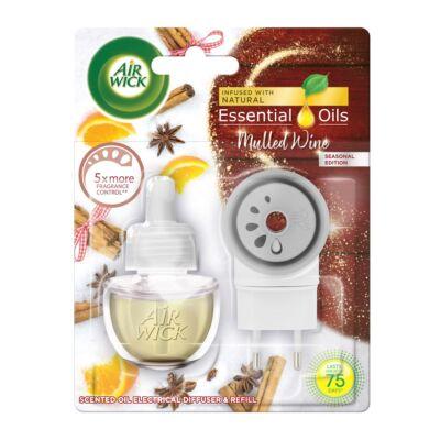 Airwick elektromos légfrissítő kész+ut. 19ml Mulled Wine (6db/#)