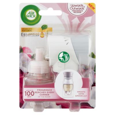 Airwick elektromos légfrissítő kész+ut 19ml Smooth Satin&Moon Lily (6db/krt)