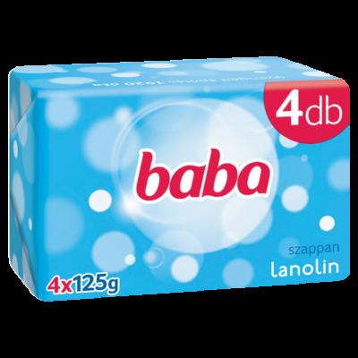 Babaszappan 4*125gr Lanolin (12db/#)