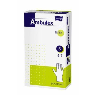 Bella Ambulex latex kesztyű 100db-os S (10db/#)