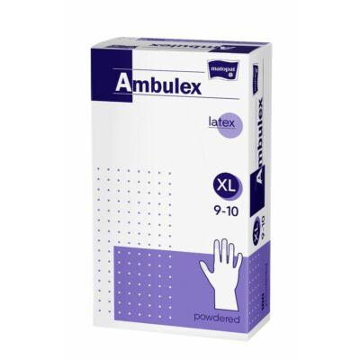 Bella Ambulex latex kesztyű 100db-os XL (10db/#)