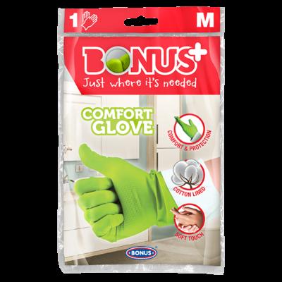 Bonus Komfort gumikesztyű M (10db/#)