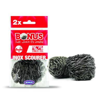 Bonus fémsúroló 2db-os Inox (100db/#)