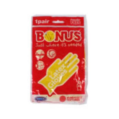 Bonus gumikesztyű S (10db/#)