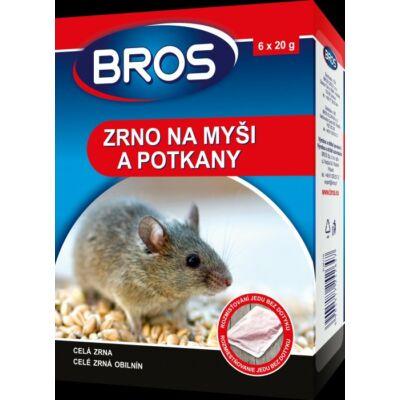 Bros Rágcsálóírtó szer 120gr gabonaszemes (12db/krt)