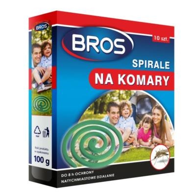 Bros szúnyogírtó és riaszó spirál (10db/krt)