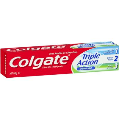 Colgate fogkrém 100ml Triple Action (12db/#)