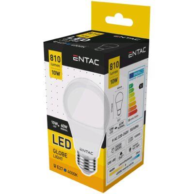 Entac LED Gömb E27 10W NW 4000K