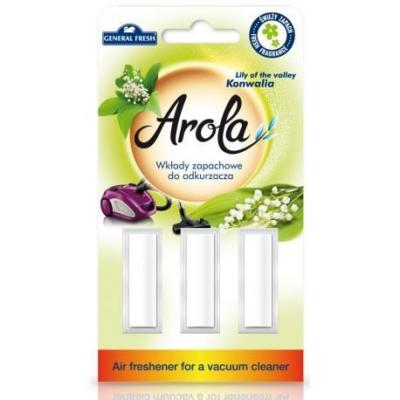 General Fresh porszívó illatosító 3db-os Lily of the valley (24db/#)