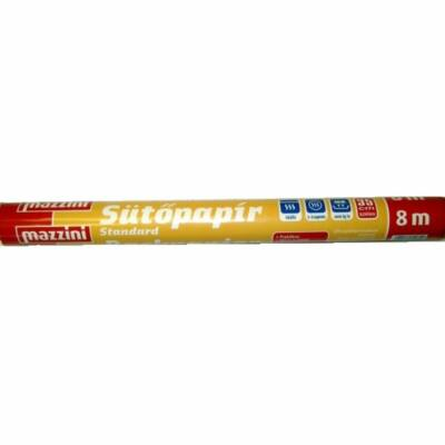 Mazzini Sütőpapír 8m Standard (40db/#)