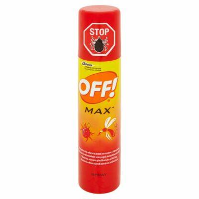 OFF MAX rovarriasztó aerosol 100ml (12db/krt)