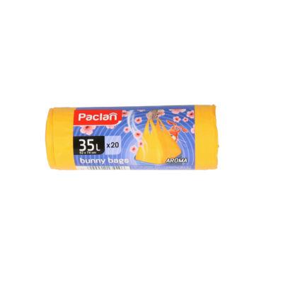 Paclan Bunny Bags illatosított szemeteszsák 35l húzófüles 20db-os (30db/#)
