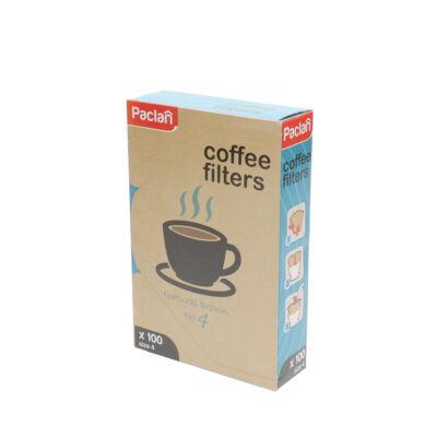 Paclan Kávéfilter 4 100db-os (18db/#)