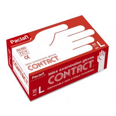 Paclan Latex kesztyű 100db-os L (10db/krt)