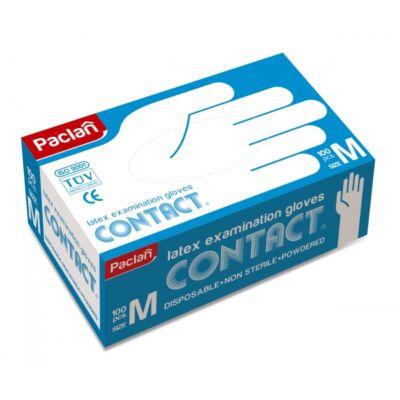Paclan Latex kesztyű 100db-os M (10db/krt)