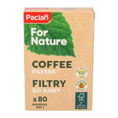 Paclan for Nature kávéfilter univerzális méret 80db (18db/krt)