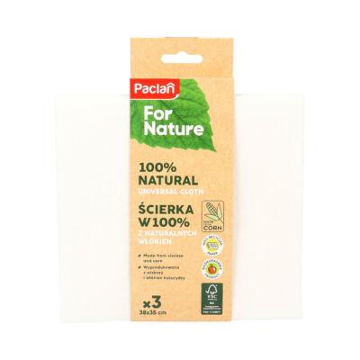 Paclan for Nature univerzális kukorica&viszkóz törlőkendő 3db (17db/krt)