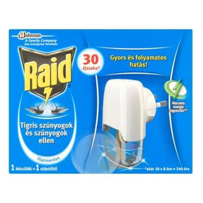 Raid elektromos párologtató folyékony készülék (30éj)(12db/#)