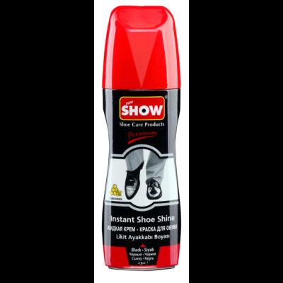 Show cipőápoló folyadék 75ml fekete (6db/#)