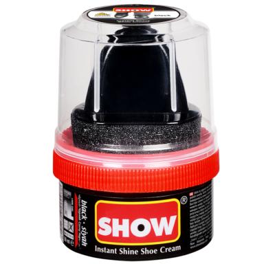 Show cipőápoló krém szivaccsal 50ml fekete (12db/#)