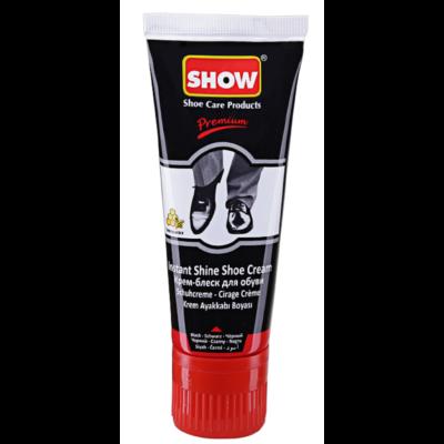 Show cipőápoló krém tubusos 75ml fekete (12db/#)
