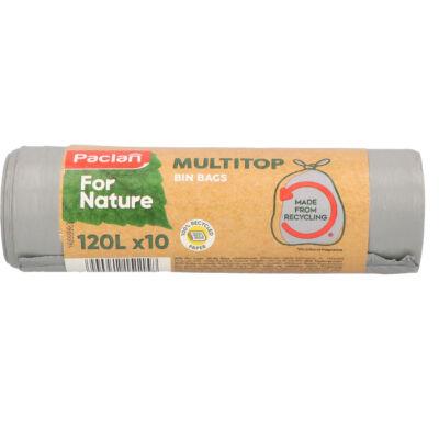 Paclan for Nature Multi Top szemeteszsák 120l (*10zsák) 110x70cm 25my (12db/krt)